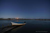 福島潟で早朝デート - デジタルで見ていた風景