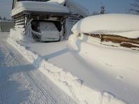 ホンダ・・小型除雪機・・ユキちゃんの実力・・ここまでか? - あいやばばライフ