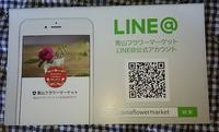 """""""青山フラワーマーケット""""LINE@公式アカウント、登録して花1本ゲット!の記 - 健気に育つ植物たち"""