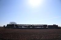 機関車も客車も2つずつ - 真岡・2018年早春 - - ねこの撮った汽車