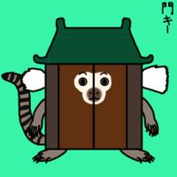 文化財へなちょこ 門キー(投稿作品) - 動物キャラクターのブログ へなちょこSTUDIO
