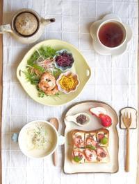 happy朝ごはん - 陶器通販・益子焼 雑貨手作り陶器のサイトショップ 木のねのブログ