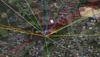 岩戸山古墳の祭祀線 - 地図を楽しむ・古代史の謎
