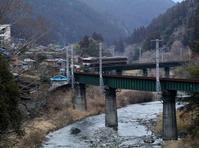 山の中の鉄橋 - 休日はタンデムツーリング