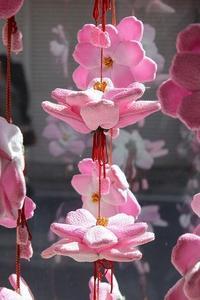 一気に、春!(飯野つるし雛まつり①2018.3.4) - 風の中で~