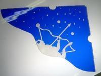 サンドブラストで星座 - atelier GLADYS  ステンドグラス工房 作り手の日々