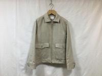 niuhans irish linen zip-up jacket - Lapel/Blog
