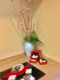 松風園で学ぶ、雛祭りの室礼 - ゆるゆると・・・