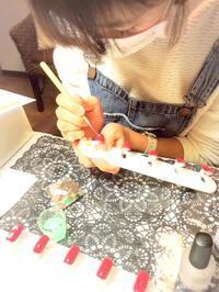 ネイリスト技能検定3級受験予定!ネイルスクール風景♪ - Rafs Nail ラフズネイル☆ブログ