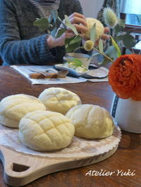 3月のリピートレッスンNO.1^^ - 小さなパンのアトリエ *Atelier Yuki*  (七ヶ浜パン教室)