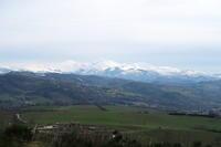 雪美しきシビッリーニと無謀なカーナビ指令、イタリア - イタリア写真草子 Fotoblog da Perugia