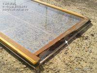 木製サッシやドアの腐れは、防水施工と塗料の問題 - 只今建築中