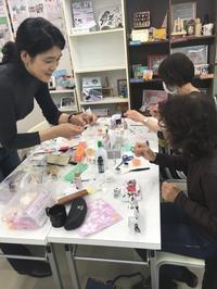 樹脂粘土教室 開催しました! - みんなのパソコン&カルチャー教室 北野田校
