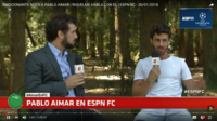 ESPNアイマールロングインタビュー - E pluribus unum * El conejo de la suerte