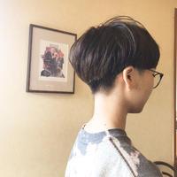 きのこヘア 髪型 ショートヘア 刈り上げ女子 さくら市 美容室エスポワール - 美容室エスポワール