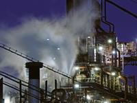 工場の煙をライブコンポジット - のんびりまったり写真館