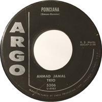 Ahmad Jamal Trio ‎– Poinciana / Soft Winds - まわるよレコード ACE WAX COLLECTORS