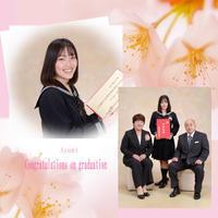 卒業 - 中山写真館のブログです。