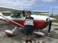 初めての操縦 - ENJOY FLYING ~ セブの空