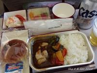◆ 機内食、その34 ソウルへ 「2016年6月」 - 空と 8 と温泉と