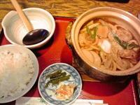 名古屋市 久々の味噌煮込みうどん♪ うどんの森川 - 転勤日記