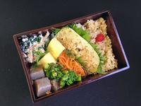 3/8メカジキの柚子胡椒焼き弁当 - ひとりぼっちランチ