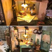 💕可愛いドールハウスが完成しました❗️ - ♪Maririn's Tea Salonへようこそ