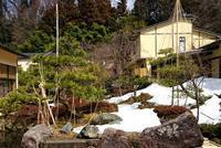 おつかれ雪吊 - 金沢犀川温泉 川端の湯宿「滝亭」BLOG