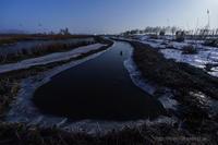 薄氷の朝 - デジタルで見ていた風景
