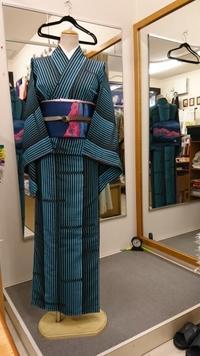 雨の日のお出かけモダンな洗える着物コーデ - たんす屋新小岩店ブログ