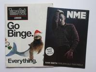 紙よさらば! イギリスの老舗音楽誌『NME』ペーパー版終了! - イギリスの食、イギリスの料理&菓子