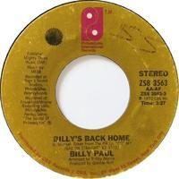 Billy Paul – Billy's Back Home / I've Got So Much To Live For - まわるよレコード ACE WAX COLLECTORS