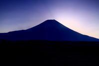 30年2月の富士(34)朝霧高原の富士 - 富士への散歩道 ~撮影記~