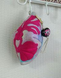 飴ちゃんポーチ - ほっと一息・・~Sakura's Hawaiian QuiltⅡ