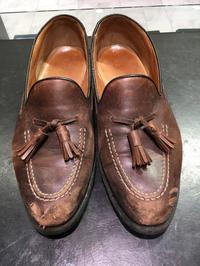 本日のケア、リーガル編 - ルクアイーレ イセタンメンズスタイル シューケア&リペア工房<紳士靴・婦人靴のケア&修理>