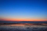 荒尾の夕暮れ(5)。 - 青い海と空を追いかけて。