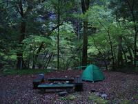 四国・岬巡りの旅36(面河キャンプ場) - たかくねんのゆるゆる〇〇ライフ