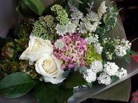 ご結婚記念日に奥様へ花束。2018/03/09。 - 札幌 花屋 meLL flowers