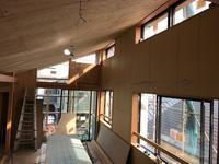 「菊名の家」竣工間近 - HAN環境・建築設計事務所