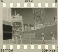 ネガ画像 Rollei RPX400(3200)×FUJI SPD原液 暮れ時の撮影 - モノクロフィルム 現像とプリント 実例集