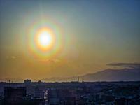 2018.3.11花粉光環付ダイヤモンド富士(マリンタワー) - ダイヤモンド△△追っかけ記録