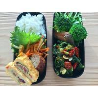勝男菜アンチョビ煮BENTO - Feeling Cuisine.com