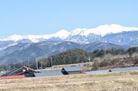 春の足音 - 飛騨山脈の自然