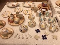 3月の苫小牧MIプラザは石川久美子さんのohanaシリーズがメインの展示になりました。 - いぷしろんの空