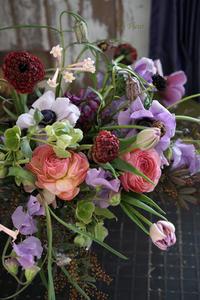 2月のレッスン春のお花をナチュラルに活ける2 -  La Fleur