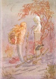 マーガレット・タラント画の人魚姫 - Books