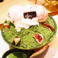 ■閉店■AMU博多「ソルビン博多店」 - 福岡の抹茶かき氷