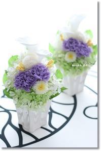 お彼岸です・・・仏花 - Flower letters