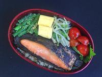 3/13鮭弁当 - ひとりぼっちランチ