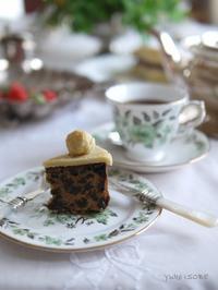 シムネルケーキ@ゆるマクロビ - お茶をどうぞ♪